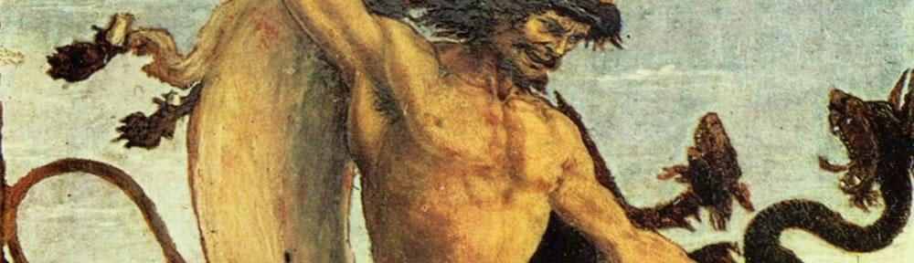 Herakles und die Hydra (Pollaiuolo)